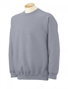 Adult Crewneck Sweatshirt - Sport Grey